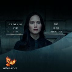 She is the symbol for hope… and for change. #MockingjayPart2