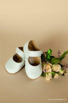 Pantofi piele botez