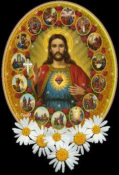 SAGRADO CORAZÓN DE JESUS, ES TUS HERMOSAS MANOS TE RECOMIENDO A TOD@S LOS QUE ME VISITAN EN ESTA LINDA PAGINA :) GRACIAS SEÑOR!!