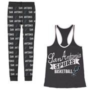 San Antonio Spurs Women's Free Time Pajama Set – Black It's Saturday in real life, but it's still Black Friday at Fanatics! Save 25% + free shipping on orders over $50! Use code: BLKFRI