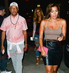 Is Russell Simmons Dating JULISSA FROM 106 And PARK  . . Cause They Were Spotted OUT HAVING DINNER Last Night!!!