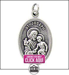 San José con Niño Jesús plata oxidados medalla bendecida por Su Santidad  ✿ Joyas para niños - Regalos ✿ ▬► Ver oferta: https://comprar.io/goto/B00CLCTXUS