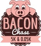 Giveaway: 2 Vouchers to the Bacon Chase  5K and .05K