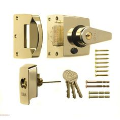 1930 60mm BS High Security Nightlatch - ERA