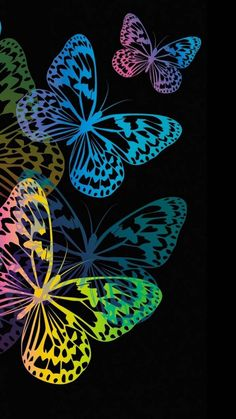 Butterfly Ringtones and Wallpapers - Free by ZEDGE™ Butterfly Background, Butterfly Wallpaper, Heart Wallpaper, Butterfly Flowers, Love Wallpaper, Cellphone Wallpaper, Abstract Iphone Wallpaper, Wallpaper Backgrounds, Paper Butterflies