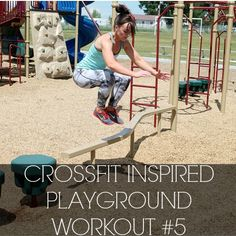 crossfit inspired playground workout #5!