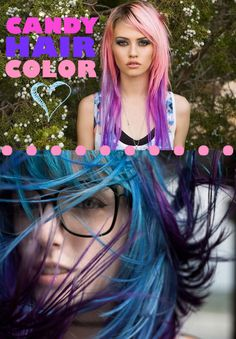 we love candy colored hair