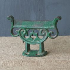Cast Iron Boot Scraper, $75, now featured on Fab.
