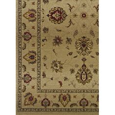 The Conestoga Trading Co. Liam Beige/Red Area Rug Rug Size: