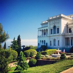 Livadia Palace in the Crimea - Miss it so much. Ukraine. Black Sea. Palace.