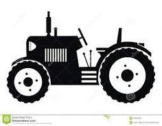 Bildergebnis für silhouette traktor