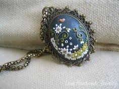 Little Butterfly Pendatet by Lena Handmade by StoriesMadeByHands, $63.00