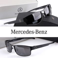 Mercedes-Benz Polarized Men Sunglasses Sports Coating Mirror Driving Sun Glasses oculos Male Eyewear Accessories
