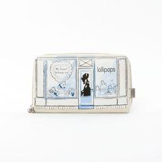 MaBoutique cash wallet, £29.00 by Lollipops Paris - what a gorgeous design! Bit Lulu Guinness :p