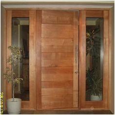 Wooden Door Design, Main Door Design, Wooden Doors, Porch Entry, Aluminium Doors, Modern Door, Rustic Bathrooms, Entrance Doors, Front Doors