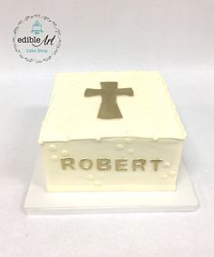 Cake Shop, First Communion, Edible Art, Confirmation, Cake Art, Decorative Boxes, Cakes, First Holy Communion, Patisserie