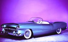 """1954 Plymouth Belmont...a""""dream car"""" or concept car as we say today."""