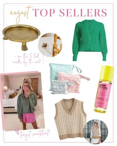August Top Sellers | Chronicles of Frivolity Green Cardigan, Knit Cardigan, Exfoliating Toner, Holiday Movie, Wet Bag, Navy Color, Boyfriend Jeans, Everyday Fashion, Baby Shower Gifts