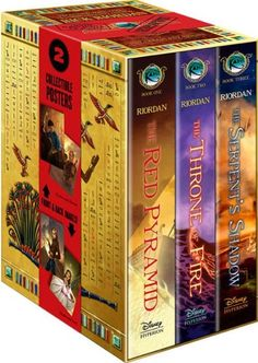 The Kane Chronicles Hardcover Boxed Set.  Read all three, actually pretty good series.  (Though I still say Walt could do better...just saying)