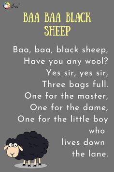 Top 5 English nursery rhymes from the - Ira Parenting Rhyming Poems For Kids, Rhyming Preschool, Rhyming Activities, Preschool Learning, Teaching Math, Learning Activities, Nursery Rhymes Lyrics, Kids Nursery Rhymes, Rhymes For Kids