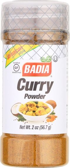 Badia Spices Curry Powder - Case Of 12 - 2 Oz.