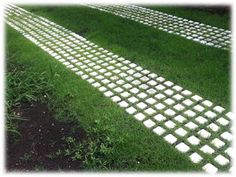 Drivable Grass Grid