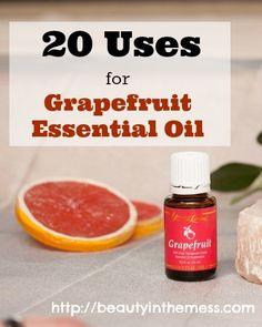 20 Uses for Grapefruit Essential Oil