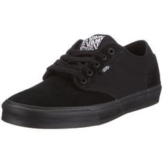 cca3cbdfa2 NEW!! VANS ATWOOD BLACK   BLACK MEN U.S. SIZE SKATEBOARDING SHOES Black Vans