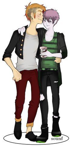 Leo and Blake 2b by Sounf.deviantart.com on @DeviantArt
