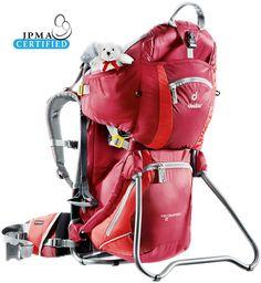 Kidsbackpack Kid Comfort 2 red