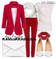 #kamzakrasou #sexi #love #jeans #clothes #dress #shoes #fashion #style #outfit #heels #bags #blouses #dress #dresses #dressup #trendy #tip #new #kiss #kisses MDŽ - šik v červeno-bielej kombinácii - KAMzaKRÁSOU.sk