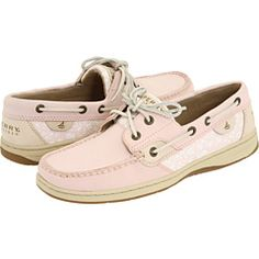 Pink boat shoes, Sperry Top-sider.