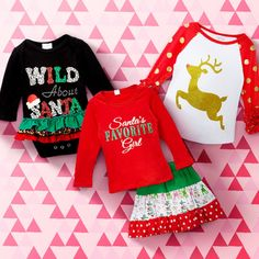 Take a look at this Outfits With Festive Flair | Baby to Big Girl event today!