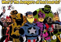 Bearded Avengers