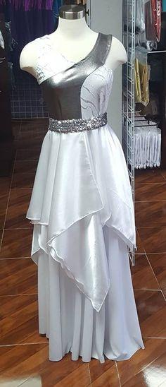 SANTIDAD - Librería la Shekinah Praise Dance Wear, Praise Dance Dresses, Worship Dance, Ballroom Dance Dresses, Jazz Dance Costumes, Belly Dance Costumes, Garment Of Praise, Salsa Dress, Dance Tops