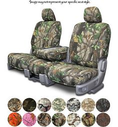 Chevrolet Silverado Camouflage Seat Covers | Ford Truck Camo Seat Covers