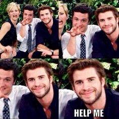 Hunger Games Cast!! I love Josh and Jen but I still feel so sorry for Liam.