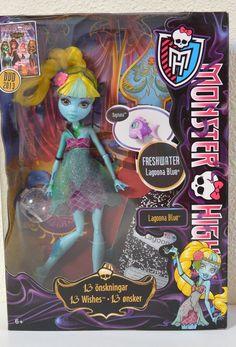 Muñeca Monster High Lagoona Blue