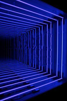'Decline' by Iván Navarro, 2011. infinity mirror