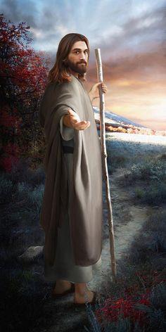 6 Sorprendentes Pinturas Digitales de Jesucristo creadas por pintor mormón - Enlace Mormón                                                                                                                                                                                 Más