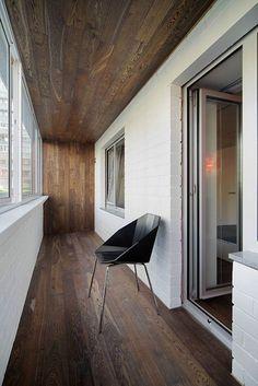 <p>Автор проекта: Градиз</p> <p>Балкон может стать органичным продолжением общего интерьера. </p>