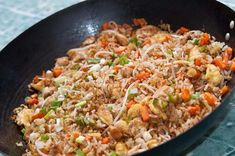 Recipe of chinese rice — Steemit Chinese rice or fried rice, is well known around the world as one of the main representatives of Chinese cuisine. Rice Recipes, Asian Recipes, Mexican Food Recipes, Healthy Recipes, Ethnic Recipes, Kitchen Recipes, Cooking Recipes, China Food, Deli Food