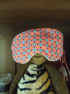 Masque de nuit sur peluche par Maryline // Créative n°30 Pot Holders, Diy, Sewing, Plush, Overnight Mask, Dressmaking, Hot Pads, Bricolage, Couture