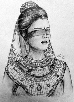 The Lesson from Mahabharat Pencil Drawing Images, Abstract Pencil Drawings, 3d Art Drawing, Girl Drawing Sketches, Dark Art Drawings, Girly Drawings, Art Drawings Sketches Simple, Pencil Drawings Of Girls, Mandala Drawing