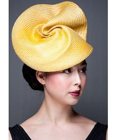 Fashion hat Baton Rouge, a design by Melbourne milliner Louise Macdonald