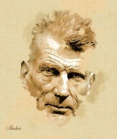 Samuel Beckett par shahin