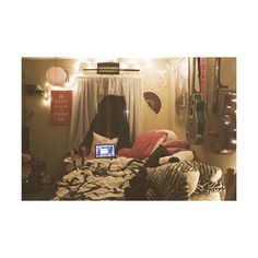 hipster room | Tumblr found on Polyvore