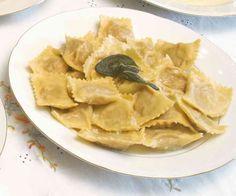 Tortelli di zucca, piatto tipico della provincia di Mantova e Parma