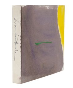 Helen Frankenthaler painted the covers of 62 books