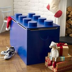 This toy box is a fun and practical piece of furniture that any child would love to have as part of their bedroom.